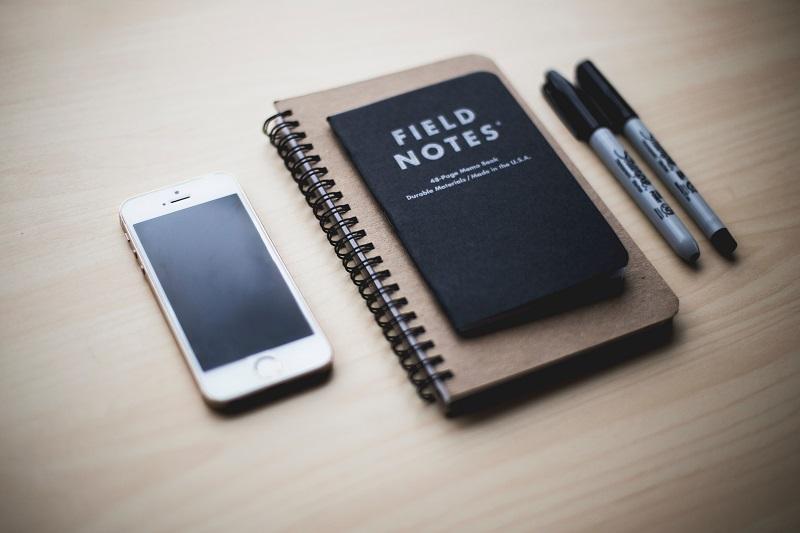cuaderno personal