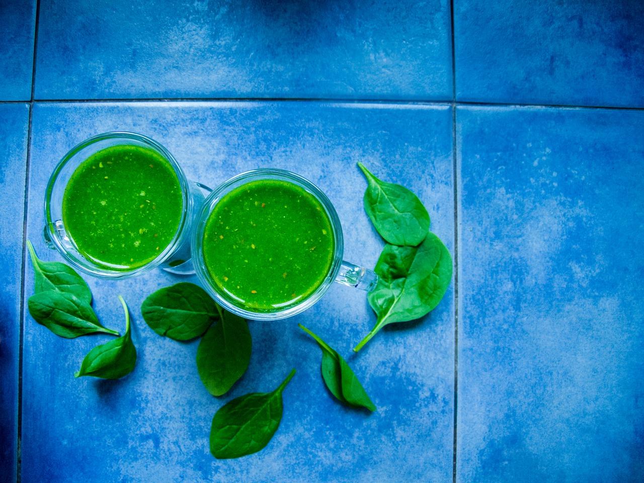 5 recetas de green smoothies
